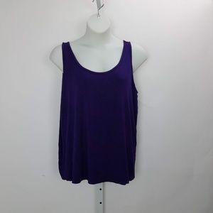 Lane Bryant Tank Top Plus 22/24 C4 Purple